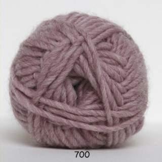 Natur uld 0700 gammelrosa