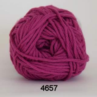 Cotton 8/8 4657 mörkcerise