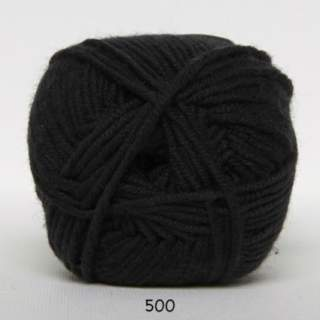 Merino Cotton 0500 svart