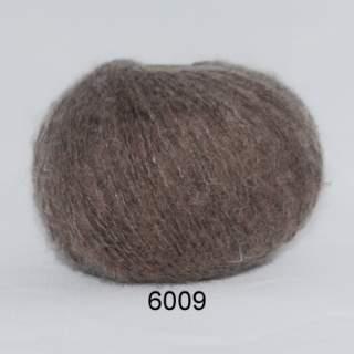 Hjerte Light mohair wool 6009 brun