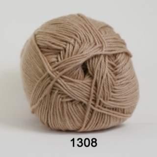 Cotton 100 1308 beige/linfärgad