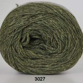 Wool silk 3027 skogsgrön