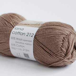 Lana cotton 212 2133 brun