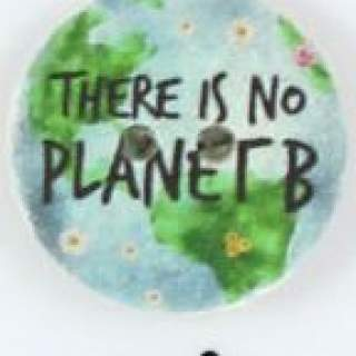 Knapp 009 There is no planet B 25 mm