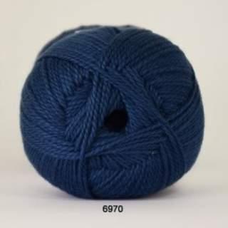 Blød Bomuld 4/2 nr 8 6970 jeansblå