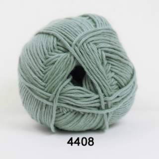 Organic Cotton 4408 blekgrön