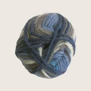 Ragg strømpegarn 1262 blågrå