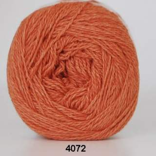 Organic 350 - Wool Cotton 4072 orange