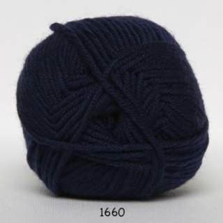Extrafine Merino 120 1660 marinblå