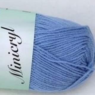 Minicryl 27106 blå