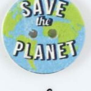 Knapp 006 Save the Planet 25 mm