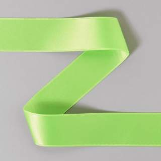 Satinband rulle 23 lime