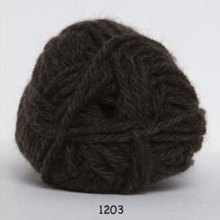 Ragg strømpegarn 1203 brun
