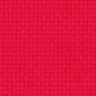 Aidaväv 3,25 rutor/cm röd