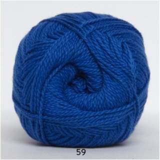 Blöd Bomuld 4/2 nr 8 59 koboltblå
