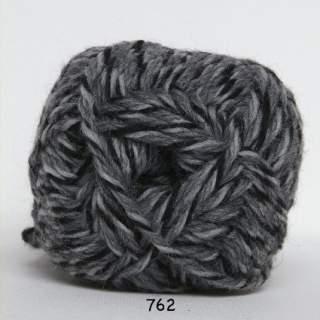 Ragg strømpegarn 0762 tvinnad gråvitsvart