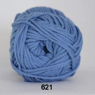 Cotton 8/8 0621 himmelsblå