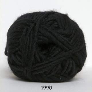 Natur uld 1990 svart