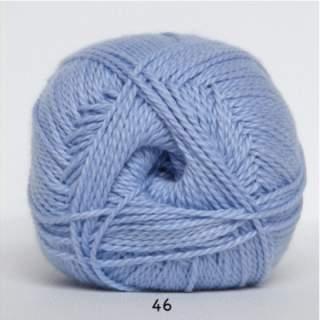 Blöd Bomuld 4/2 nr 8 46 ljusblå