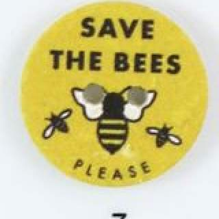 Knapp 007 Save the Bees 25 mm
