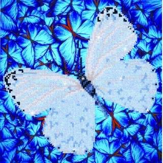 Diamond Dotz DD5.021 FLUTTERBY WHITE