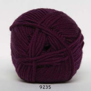 Extrafine Merino 50 9235 plommon