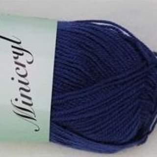 Minicryl 27107 marinblå