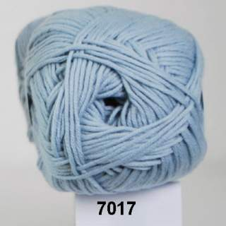 Alicante Cotton 7017 ljusblå
