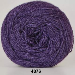 Organic 350 - Wool Cotton 4076 plommon