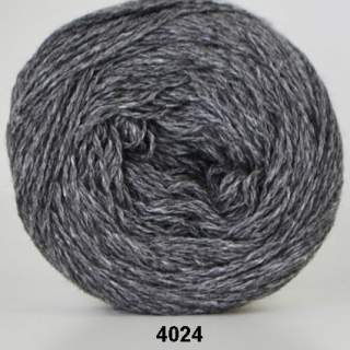 Organic 350 - Wool Cotton 4024 mellangrå