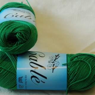 Fino Cablé 24/2x3 härva 7010 gräsgrön