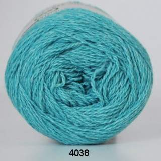 Organic 350 - Wool Cotton 4038 ljusturkos