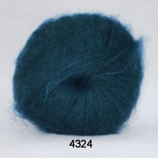 Silk Kid Mohair 4324 blå