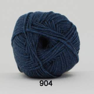 Extrafine Merino 150 0904 jeansblå