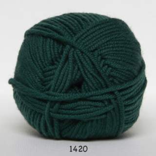 Extrafine Merino 120 1420 flaskgrön
