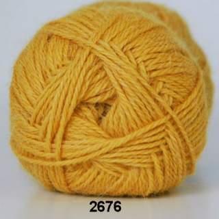 Hjerte Alpaca 2676 gul
