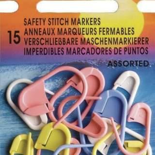 Stickmarkörer blandade färger pony 15st