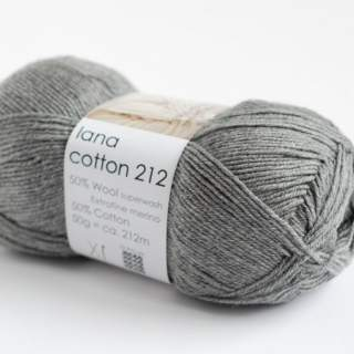 Lana cotton 212 0435 grå