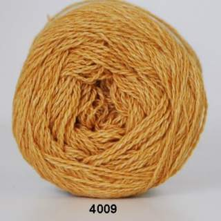 Organic 350 - Wool Cotton 4009 senapsgul