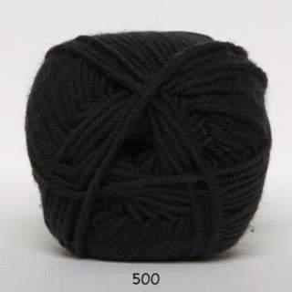 Extrafine Merino 120 0500 svart
