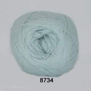 Alpaca 400 8734 ljusblå