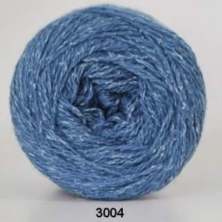 Wool silk 3004 blå
