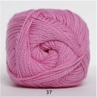 Blöd Bomuld 4/2 nr 8 37 rosa
