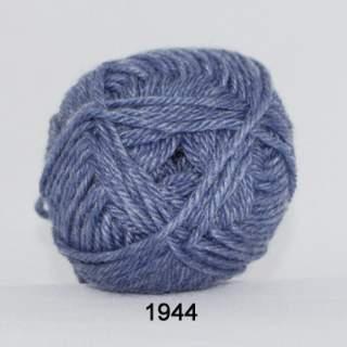 Ragg strømpegarn 1944 melerad blå