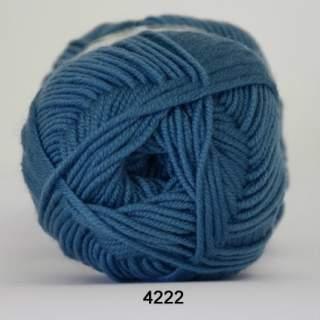 Extrafine Merino 120 4222 vattenblå