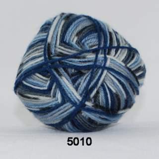 Sock 4 5010 hav jacquard