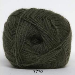 Sock 4 7770 skogsgrön