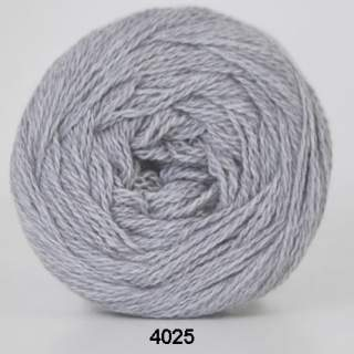 Organic 350 - Wool Cotton 4025 ljusgrå
