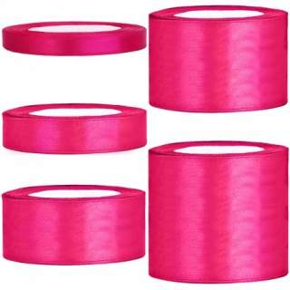 Satinband rulle 55 pink