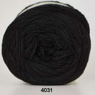 Organic 350 - Wool Cotton 4031 svart